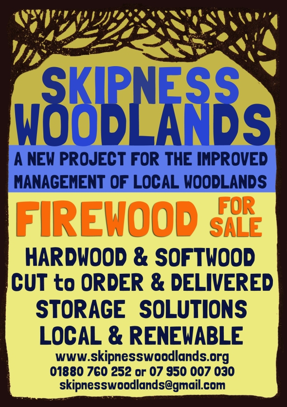 skipness woodlands flyer fire wood
